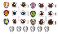Jessica Flores, Personajes Paw Patrol, Los Paw Patrol, Eye Stickers, Round Eyes, Clay Dolls, Doll Face, Piggy Bank, Stencils
