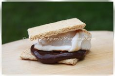 Chocolate Pudding S'more - creative s'mores by Madyson's Marshmallows