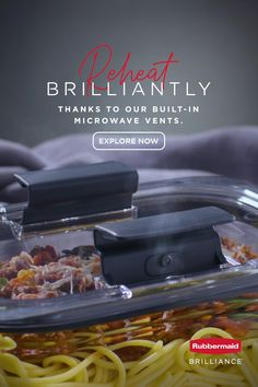 Elevate your eating and live brilliantly with the innovative features of Rubbermaid Brilliance food storage. Diy Garage Storage, Diy Kitchen Storage, Diy Kitchen Cabinets, Storage Hacks, Kitchen Pantry, Kitchen Organization, Food Storage, Truck Storage, Storage Cabinets
