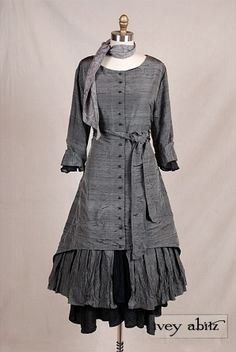 Fall 2 2012 Look No. 1 - I don't think I'd ever wear it but I like it!  Of course, no dresses for me till nursing days are over...