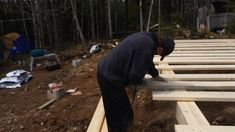 How to: Build a Rock Solid, Low Cost Off Grid Cabin Foundation Shed Cabin, Diy Cabin, Tiny House Cabin, Cabin Plans, Shed Plans, House Plans, Cabin Ideas, Cabin Kits, House Ideas
