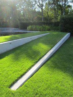 jardin en pente, aménagement de jardin en pente #modernlandscapedesign