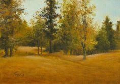 "Beth Norwood oil - ""Pettit's Pasture"""