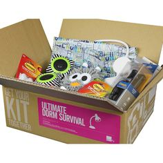 Ultimate Dorm Survival Kit - College Survival Kit