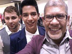 Gustavo Make, Thalysson Perez and me
