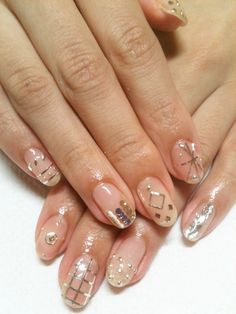 disco nails #nail #nails #nailart #unha #unhas #unhasdecoradas #disco #fun #stylish