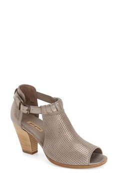 Paul Green 'Colleen' Perforated Leather Sandal (Women) available at #Nordstrom