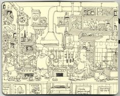 Eating Out in Barcelona by Mattias Adolfsson