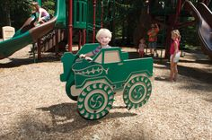 Big Tow Bouncer by Miracle Recreation Playground Accessories, Bouncers, Winning The Lottery, Outdoor Play, Kids Playing, Picnic, Trail, Monster Trucks, Sport