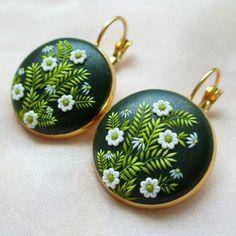 Polymer clay handmade earrings | por Magdalena Pavlovic