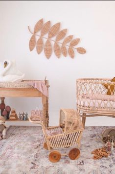 We're loving this soft space designed by The soft colours and our Amelia Multicoloured Medallion Abrash Transitional Rug tie together this nursery. Check out other colours on our website! Soft Colors, Colours, Baby Girl Room Decor, Princess Nursery, Transitional Rugs, Little Princess, Amelia, Tie, Website