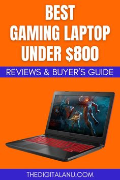 In recent years, the gaming business has reached unprecedented heights. Every year, new games are released with better visuals and gameplay components than ever before. As a result, there is a steady need for high-quality computers that can manage these extreme graphical requirements. Sowe've done some of the legwork for you by compiling a list of the best gaming laptops under 800 dollars! #gaminglaptop #cheapgaminglaptop Cheap Gaming Laptop, Best Laptops, News Games, Best Laptop Computers