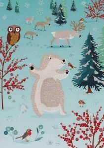 Metsän eläimet 0,80€ postcardgarden