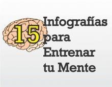 15 Infografías para tu Entrenamiento Mental y Mejorar tu Memoria