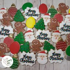 Decorated Christmas Sugar Cookies! Merry Christmas!
