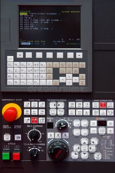 Find Modern Cnc Machine Control Panel stock images in HD and millions of other royalty-free stock photos, illustrations and vectors in the Shutterstock collection. Diy Lathe, Diy Cnc Router, Cnc Controller, Cnc Parts, Ui Design Inspiration, Cnc Plasma, Cnc Machine, Retro Futurism, Photography Website