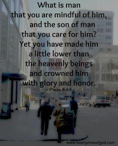 Psalm 8:4-5