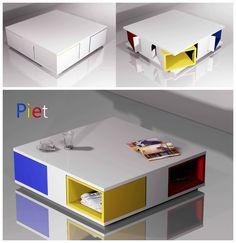 Tavolino Piet presentato per Porada Forniture Award 2012