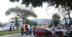 Perseguição termina em tiroteio e suspeitos baleados em Viamão, RS