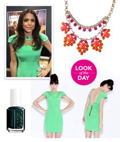 Look of the Day: Gorgeous in Green on Ellen | Bethenny.com