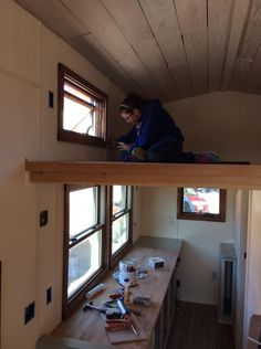 A Couples DIY Tiny House Blog, with some help from students