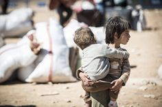 Lost their parents & home in #Syria