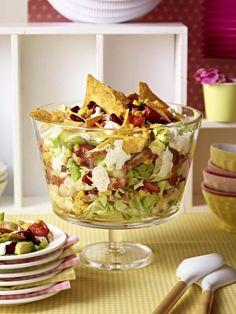 Unser beliebtes Rezept für Mexikanischer Schichtsalat und mehr als 55.000 weitere kostenlose Rezepte auf LECKER.de.