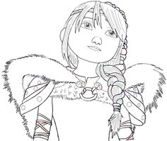 Step finished astrid from how to train your dragon 2 How to Draw Astrid from How to Train Your Dragon 2 in Simple Step by Step Tutorial How To Train Dragon, How To Train Your, Toothless Drawing, Dragons 3, Drawings For Boyfriend, Dragon Sketch, Fall Coloring Pages, How To Draw Steps, Black And White Drawing