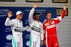 Tercera pole consecutiva para Hamilton, ahora en China