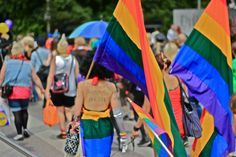 """""""It's about persons, not sex"""" - Helsinki Pride Parade 30.6.2012. Photo by Jouni Jyllinmaa"""