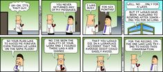 Dilbert comic strip for 09/01/2013 from the official Dilbert comic strips archive.