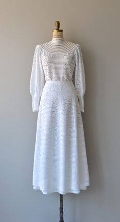 Eleanor Brenner wedding dress vintage 1970s wedding by DearGolden