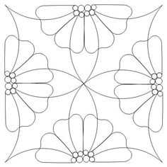 Digital – Page 180 – Anne Bright Designs Hand Quilting Patterns, Machine Quilting Designs, Mosaic Patterns, Free Motion Quilting, Pillow Embroidery, Embroidery Motifs, Hand Embroidery Designs, Skull Coloring Pages, Dot Art Painting