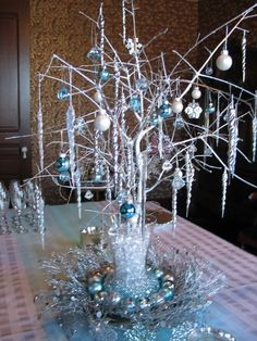 Ornament Table Centerpiece
