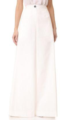 TOME Culotte Pants. #tome #cloth #dress #top #shirt #sweater #skirt #beachwear #activewear