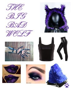 """""""The Gender Switch: The Big Bad Wolf"""" by beachygirl08 ❤ liked on Polyvore"""