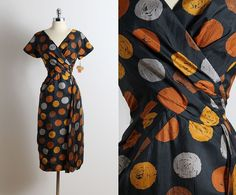 Vintage 50s Dress 1950s Ferman O' Grady deadstock dress
