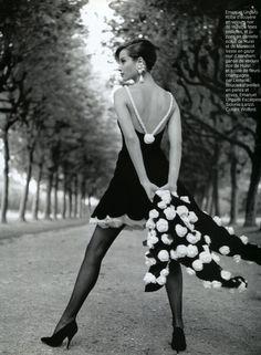 Christy Turlington | Photography by Arthur Elgort | For Vogue Magazine France | September 1991