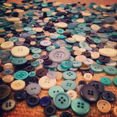 Buttons! I've used thousands for a variety of DIY details in my wedding! I just love them! #wedding #DIY #allinthedetail