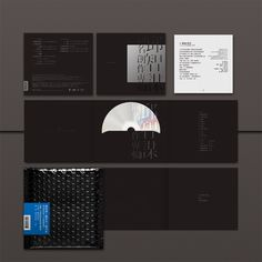 CD cover by Transform design studio, via Behance