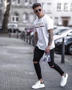 Mens Fashion Suits, Dope Fashion, Street Fashion, Latest Fashion, Smart Casual Menswear, Men Casual, Men Street Look, Street Style, Look Man