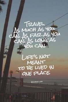 Top 25 Inspirational Travel Quotes That You'll Love: discover inspiring and inspirational quotes and motivational mantras by famous people on wanderlust, travel destinations, geography and amazing places around the world. Oh The Places You'll Go, Places To Travel, Travel Destinations, Quotes To Live By, Life Quotes, Quotes Quotes, Tour Quotes, Start Quotes, Journey Quotes