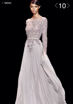 36e555a90600 Into my darkest vision she walked like a heavenly light. Ellie Saab - Haute  Couture   Fall Winter 2013 - 2014 Seriously