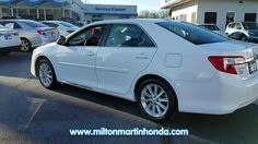 USED 2014 TOYOTA CAMRY 4DR SDN I4 AUTO XLE LTD AVAIL at Milton Martin Honda  #K3115