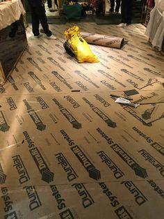 Installing Underfloor Commercial Shop. Flooring ContractorsCommercial ...