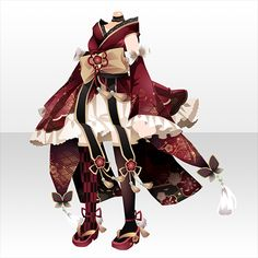 咲き匂ふ華の謡|@games -アットゲームズ- Anime Outfits, Cool Outfits, Anime Girl Dress, Kimono Design, Clothing Sketches, Pastel Outfit, Fashion Design Drawings, Star Girl, Fantasy Dress
