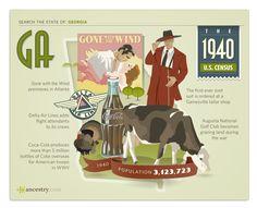 #Georgia #1940 #1940 Census
