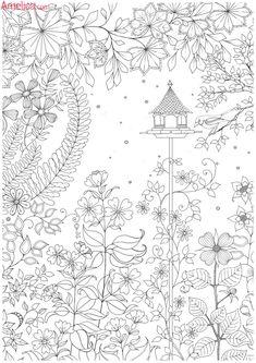 Раскраски взрослые антистресс волшебный сад, зачарованный лес, скачать бесплатно, раскраски для взрослых распечатать
