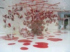 Inhotim - installation of the Brazilian plastic artist Tunga  http://www.inhotim.org.br/index.php