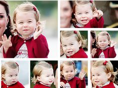 World of Windsor : oh-babies: ♕ Princess Charlotte at the end of...